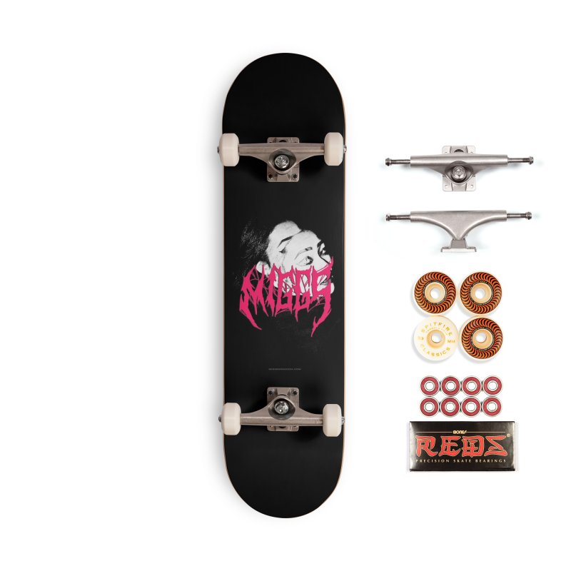 DEATH MMETAL Accessories Skateboard by miggsmendoza's Shop