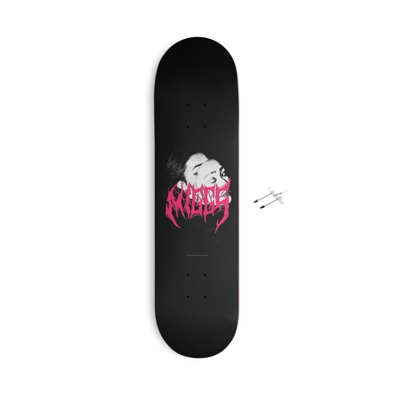 DEATH MMETAL Accessories Skateboard by miggsmendoza's Shop