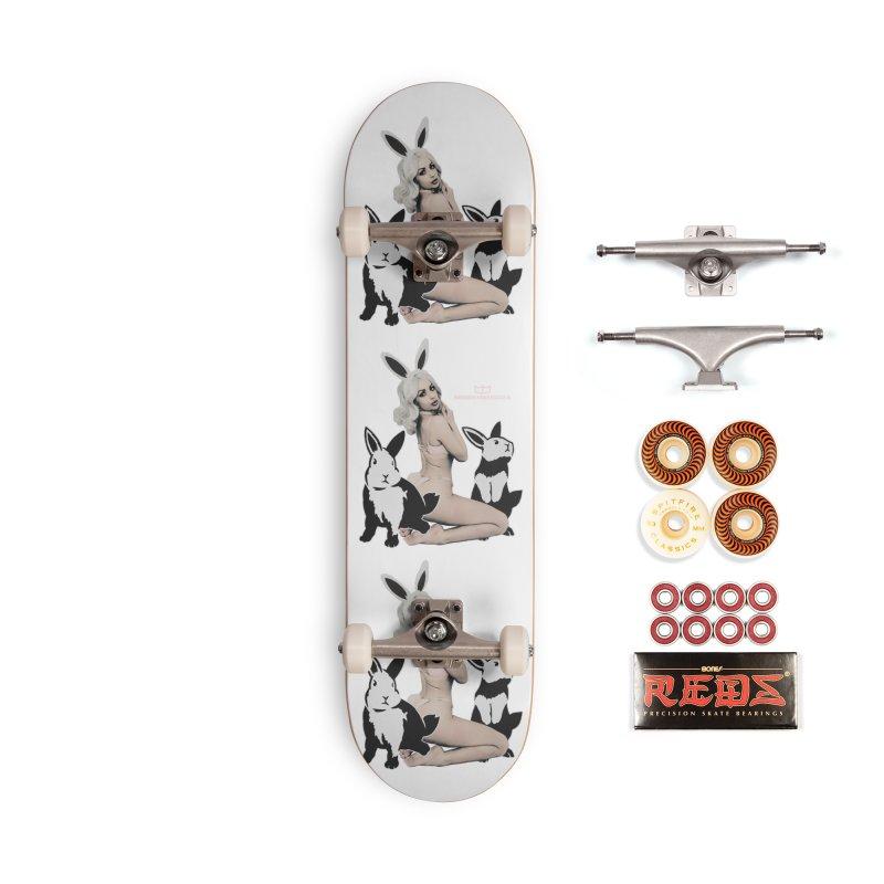 Conejitas Accessories Skateboard by miggsmendoza's Shop