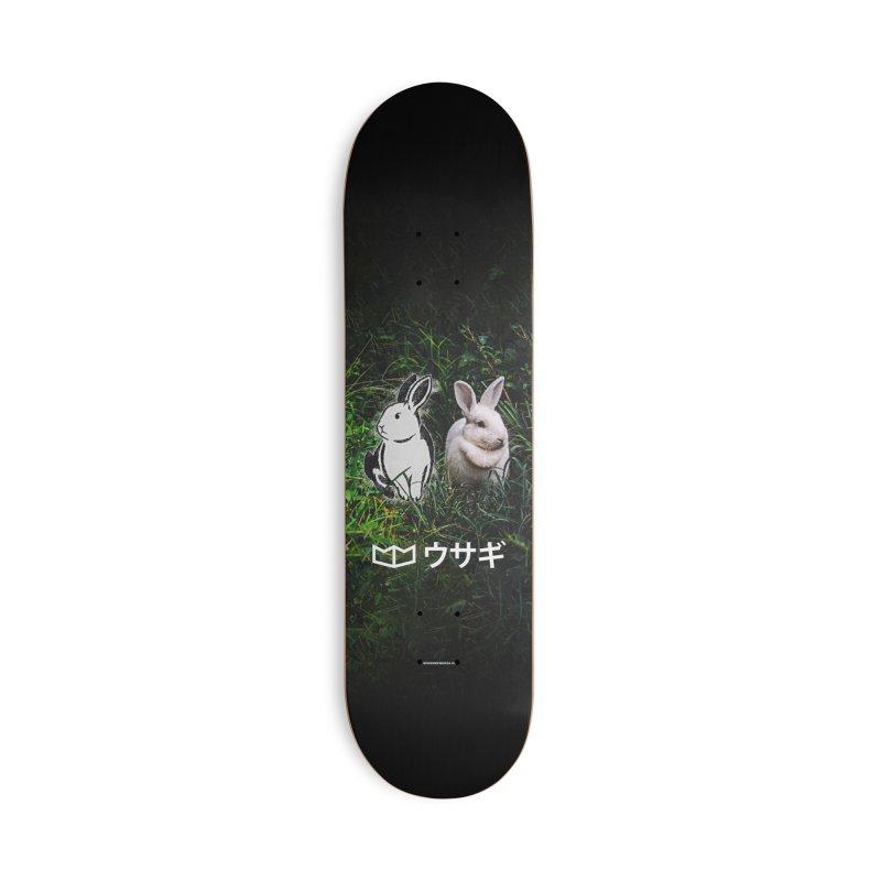 Usagi Accessories Skateboard by miggsmendoza's Shop