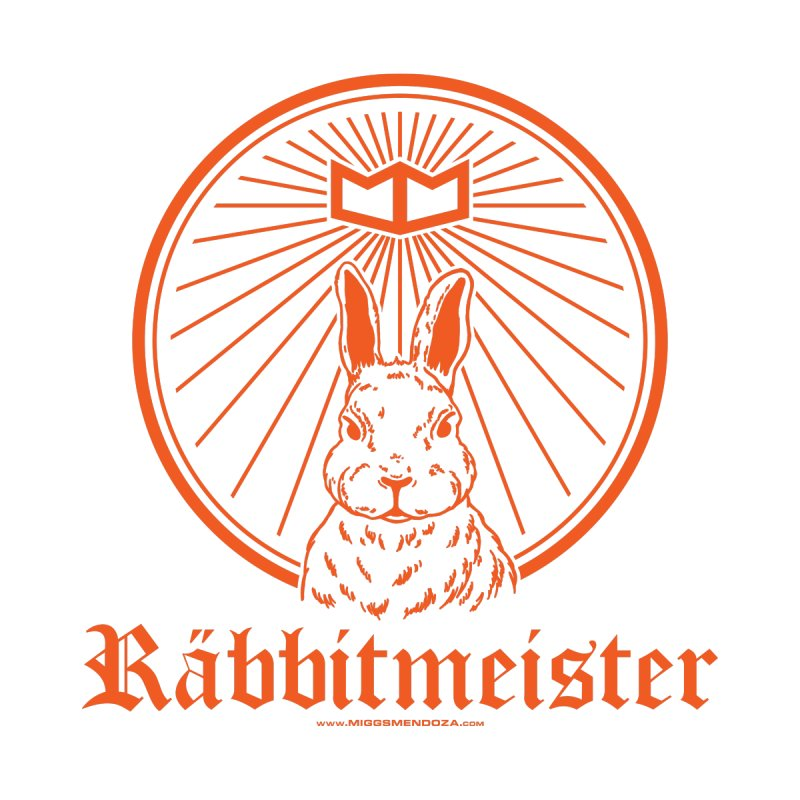 Räbbitmeister Men's T-Shirt by miggsmendoza's Shop