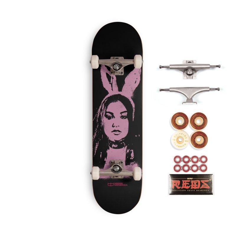 Bunny Ears Accessories Skateboard by miggsmendoza's Shop