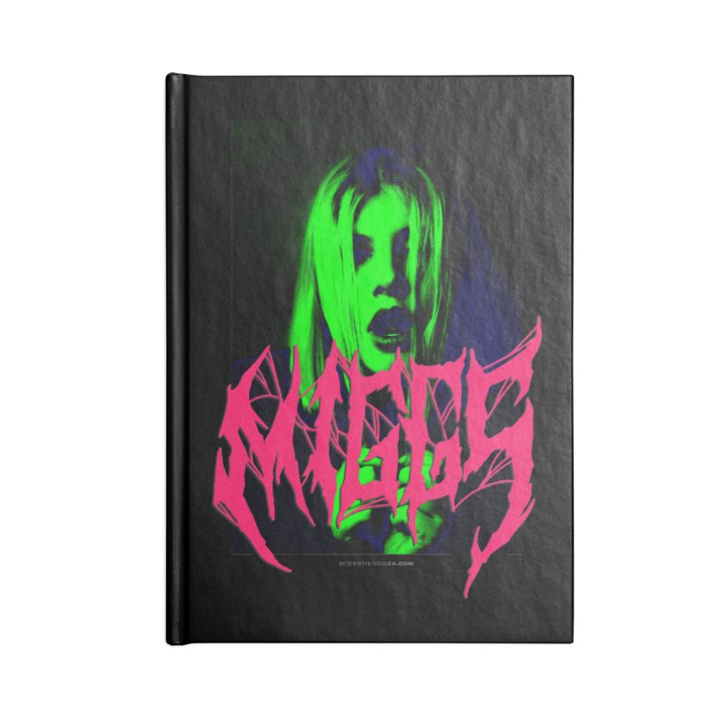 Death Metal 2222222 Accessories Notebook by miggsmendoza's Shop