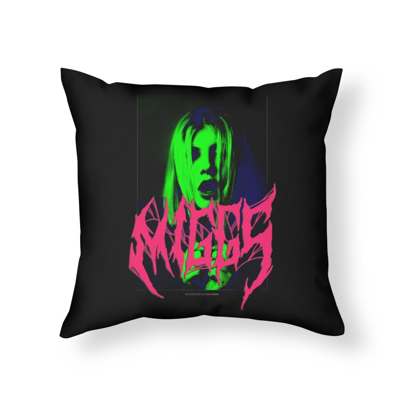 Death Metal 2222222 Home Throw Pillow by miggsmendoza's Shop