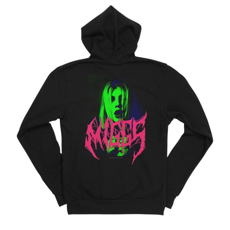 Death Metal 2222222 Women's Zip-Up Hoody by miggsmendoza's Shop
