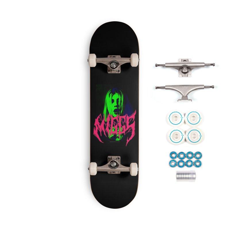 Death Metal 2222222 Accessories Skateboard by miggsmendoza's Shop