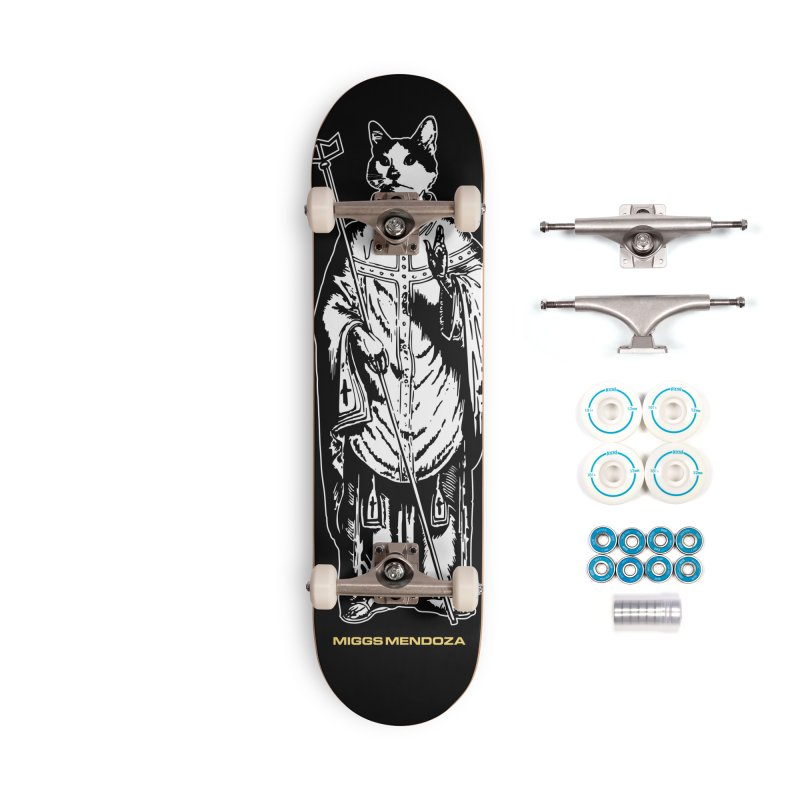 Saint Meatloaf Accessories Skateboard by miggsmendoza's Shop