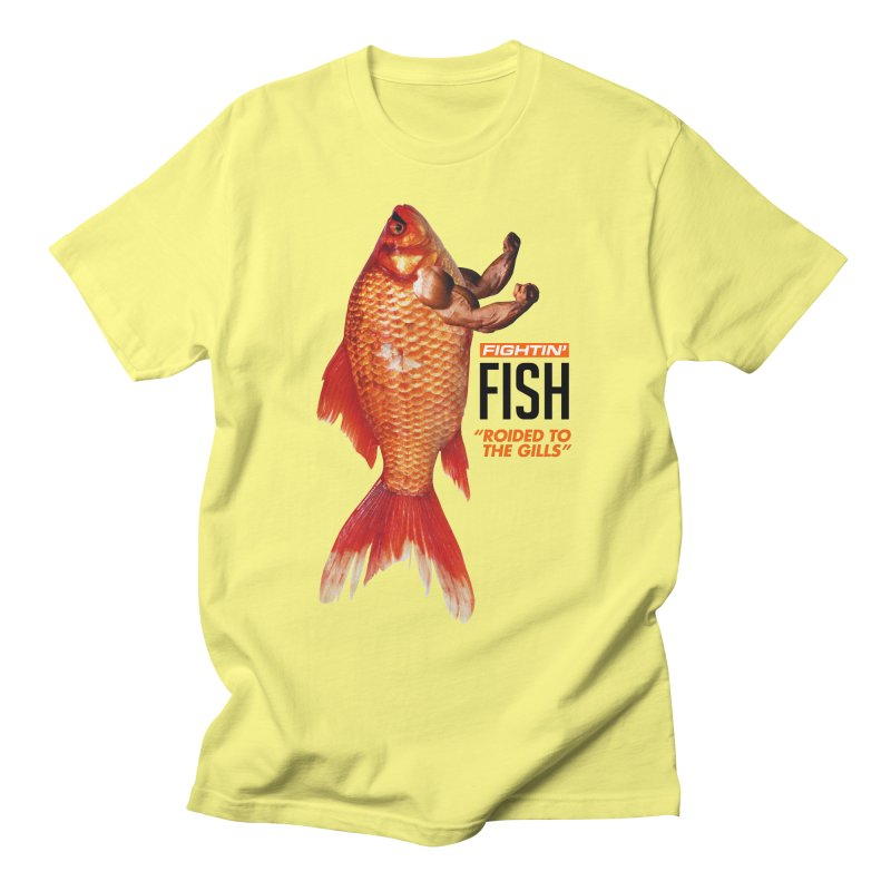 Fightin' Fish Men's T-Shirt by miggsmendoza's Shop