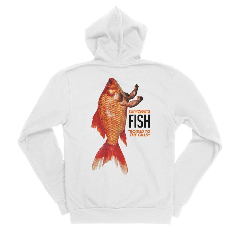 Fightin' Fish Men's Zip-Up Hoody by miggsmendoza's Shop