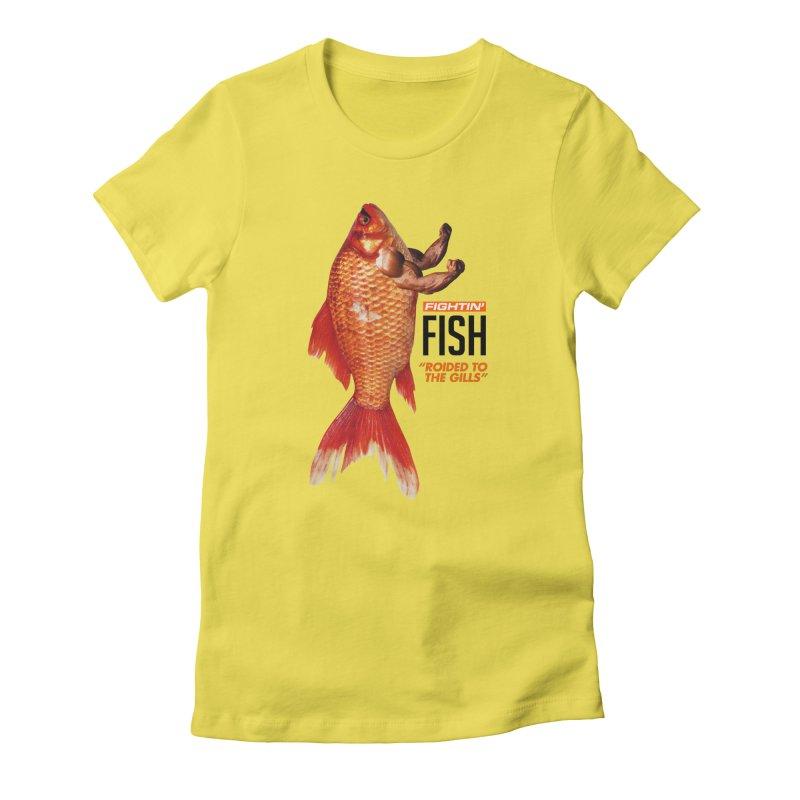 Fightin' Fish Women's T-Shirt by miggsmendoza's Shop