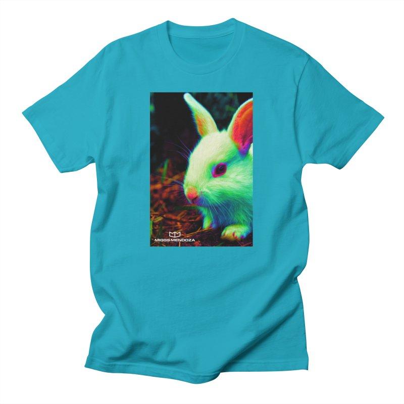 Trippy Bunny Men's T-Shirt by miggsmendoza's Shop
