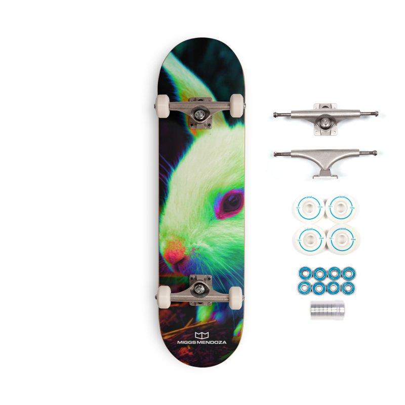 Trippy Bunny Accessories Skateboard by miggsmendoza's Shop