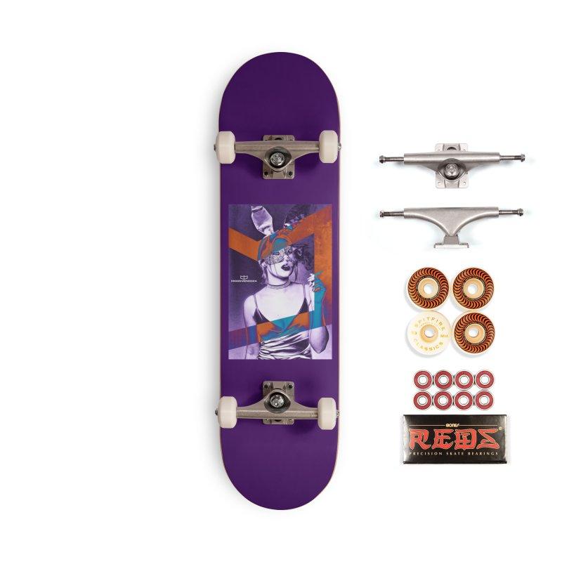 Smokin' Accessories Skateboard by miggsmendoza's Shop