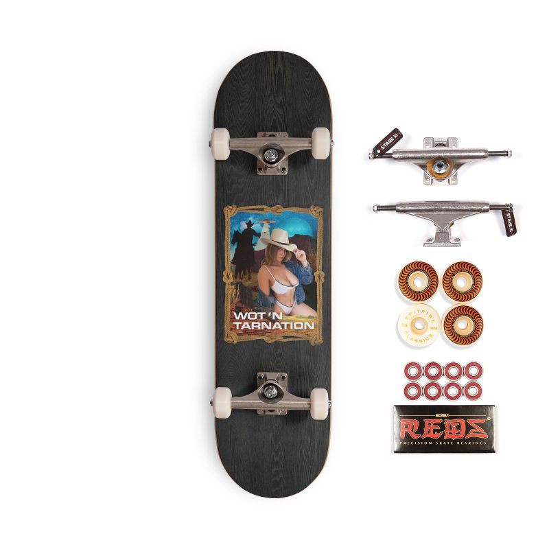 Wot N' Tarnation Accessories Skateboard by miggsmendoza's Shop