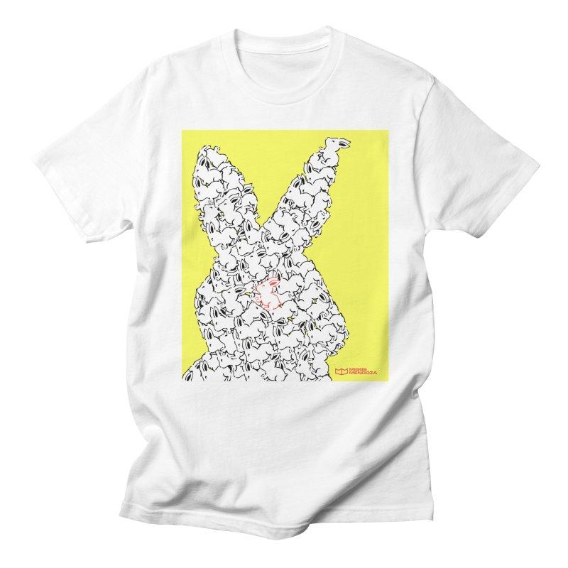 King Rabbit Men's T-Shirt by miggsmendoza's Shop