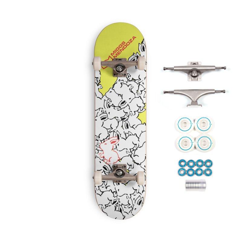 King Rabbit Accessories Skateboard by miggsmendoza's Shop