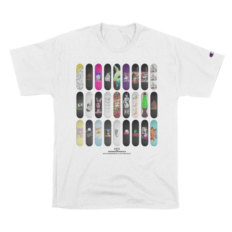 SKATEBOARDS Men's T-Shirt by miggsmendoza's Shop