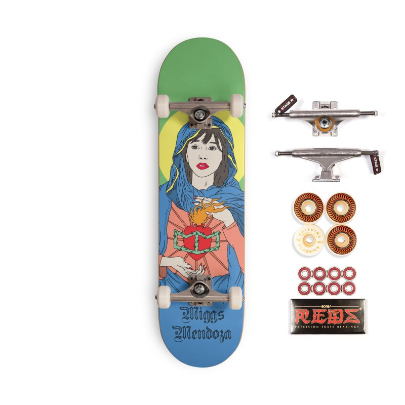 Ave Maria Accessories Skateboard by miggsmendoza's Shop