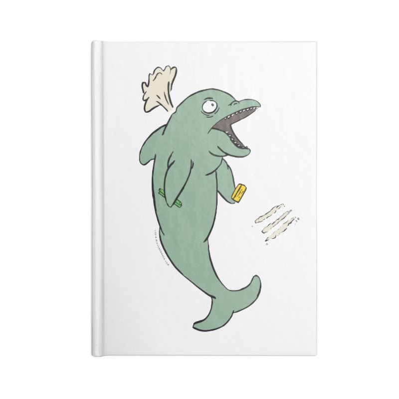 Miami Dolphin on Cocaine Accessories Notebook by miggsmendoza's Shop