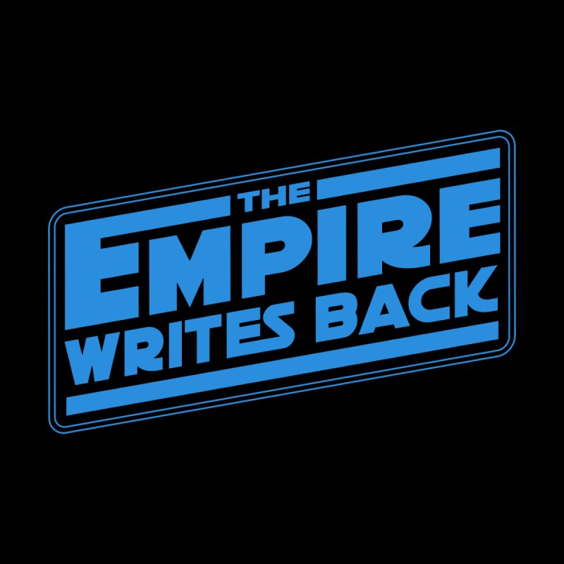 The Empire Writes Back Men's T-Shirt by Mighty Fine Copy Shop