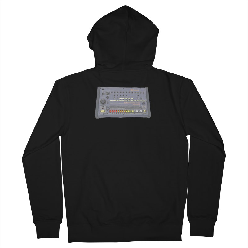 All About That 808 Men's Zip-Up Hoody by MightyMoss