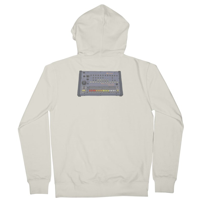 All About That 808 Men's French Terry Zip-Up Hoody by