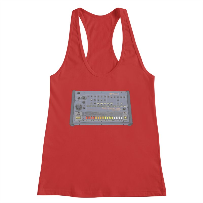 All About That 808 Women's Racerback Tank by