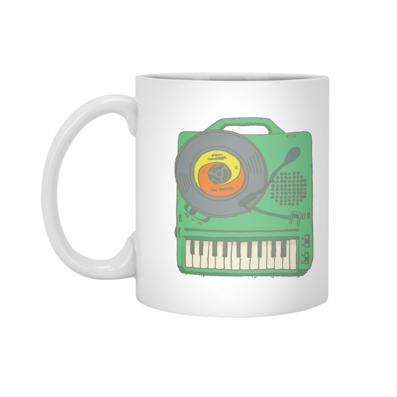 Portable Record Player 17 Accessories Mug by