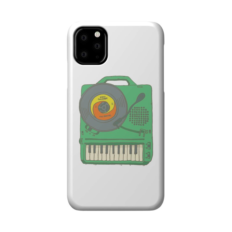 Portable Record Player 17 Accessories Phone Case by