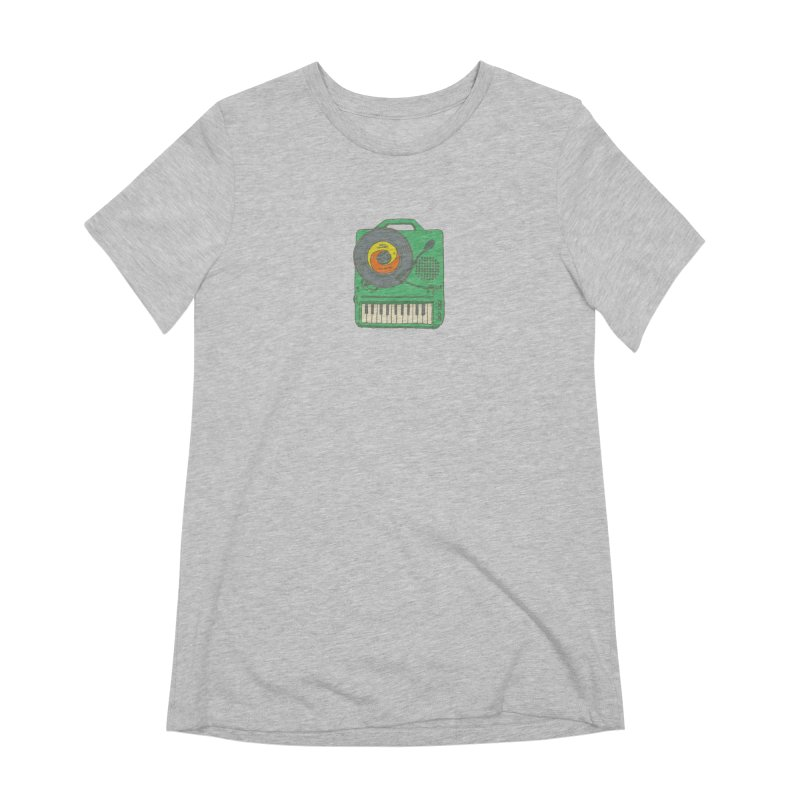 Portable Record Player 17 Women's Extra Soft T-Shirt by