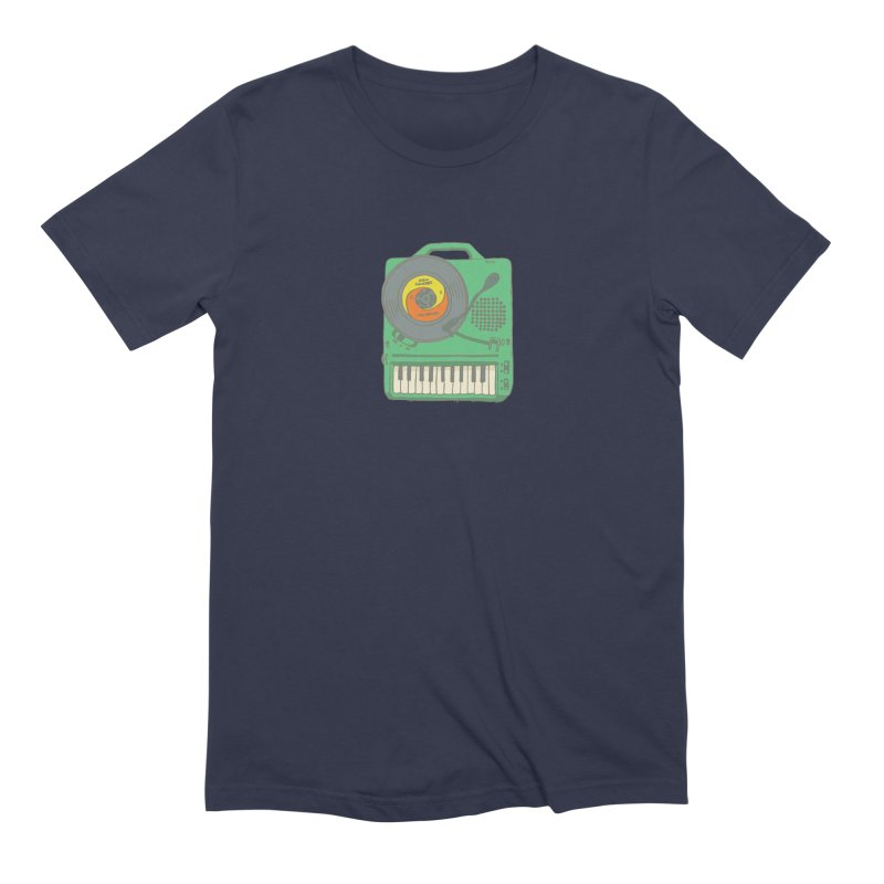 Portable Record Player 17 Men's Extra Soft T-Shirt by