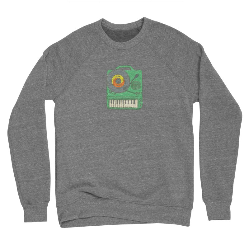 Portable Record Player 17 Women's Sponge Fleece Sweatshirt by