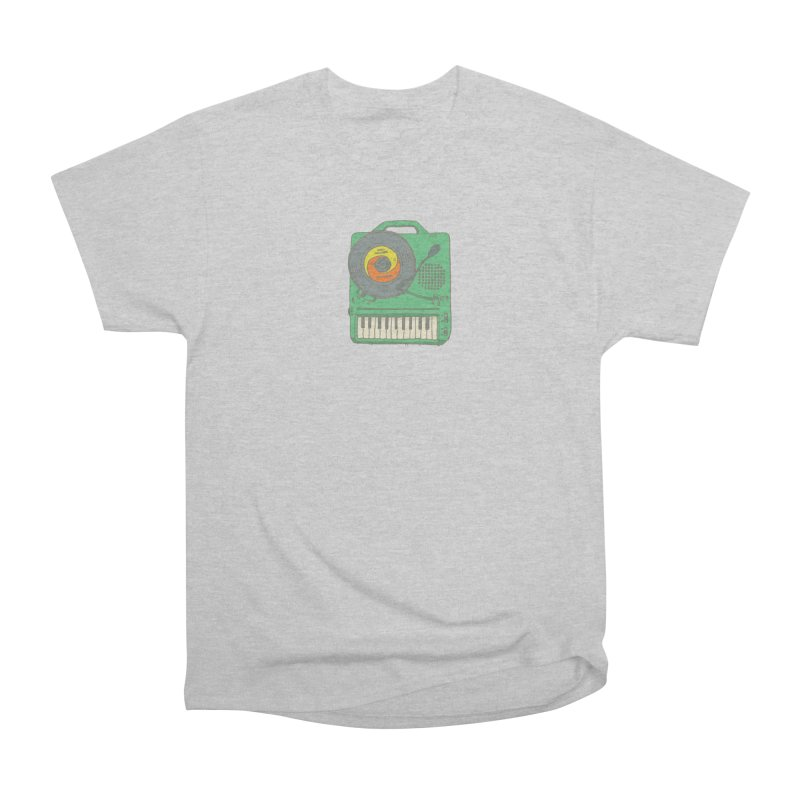 Portable Record Player 17 Women's Heavyweight Unisex T-Shirt by