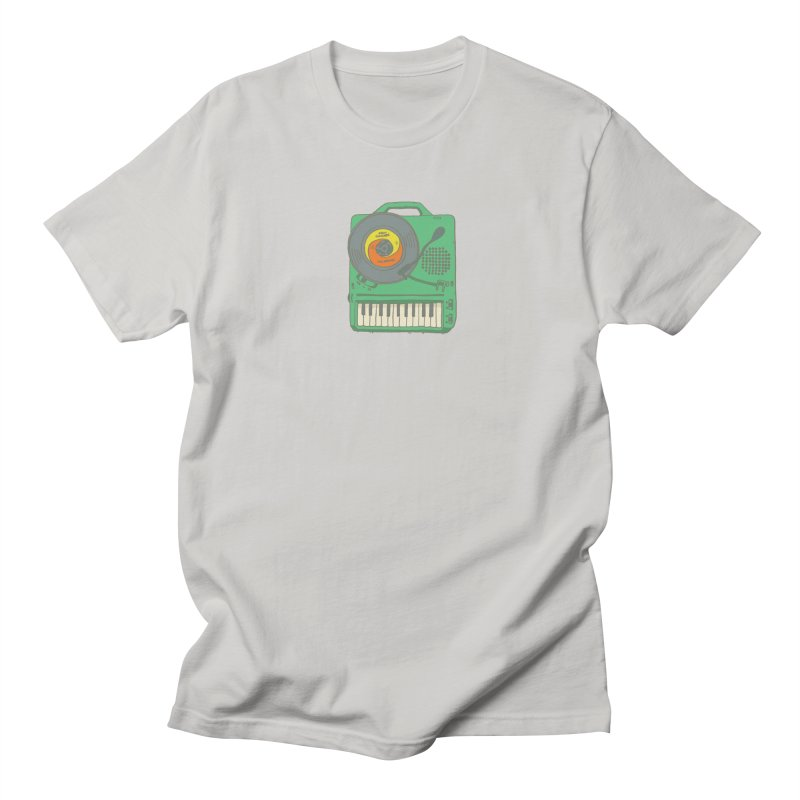 Portable Record Player 17 Women's Regular Unisex T-Shirt by