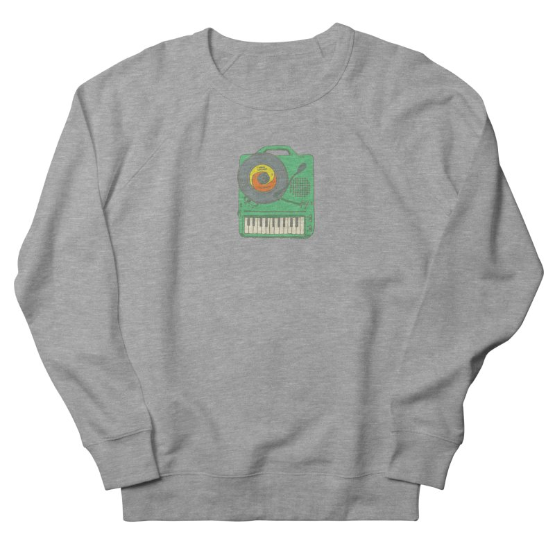 Portable Record Player 17 Women's French Terry Sweatshirt by