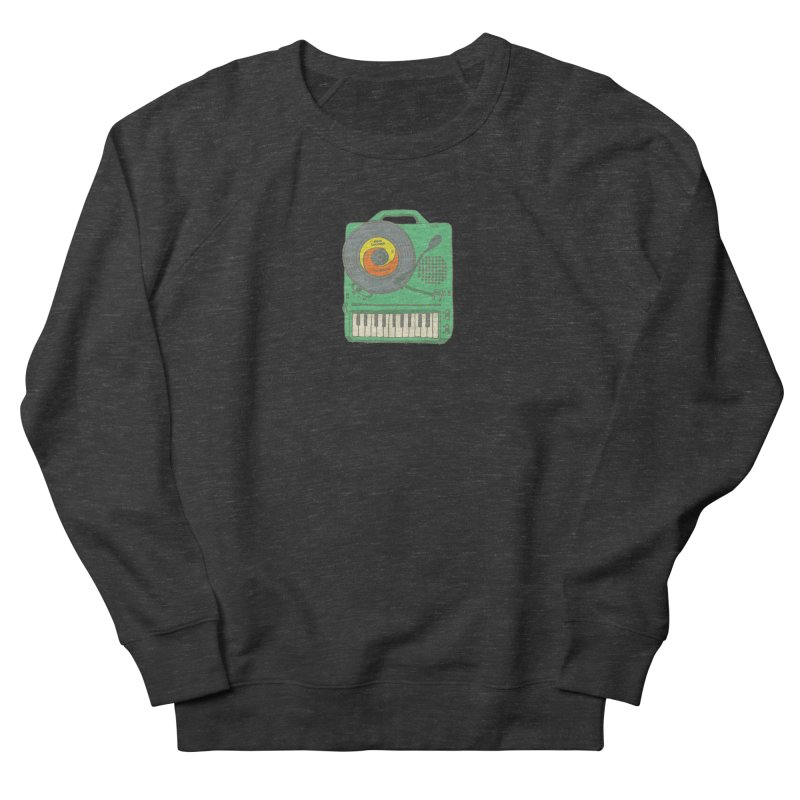 Portable Record Player 17 Men's French Terry Sweatshirt by