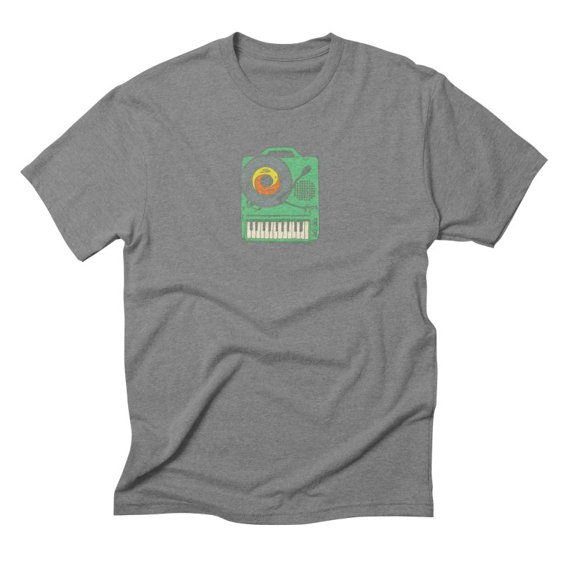 Portable Record Player 17 Men's Triblend T-Shirt by