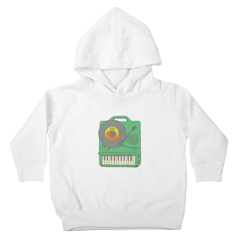 Portable Record Player 17 Kids Toddler Pullover Hoody by