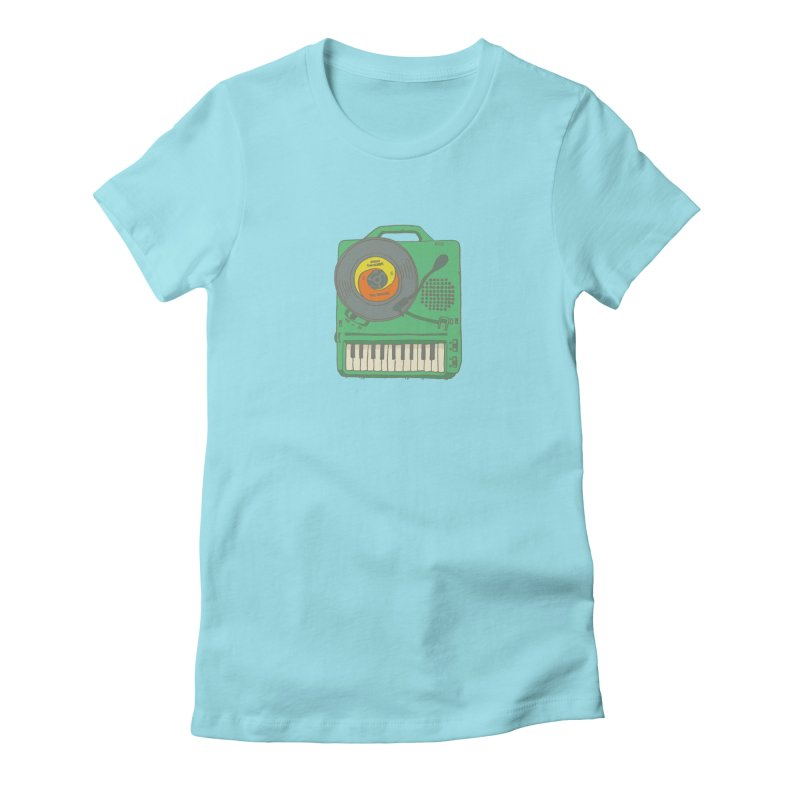 Portable Record Player 17 Women's T-Shirt by