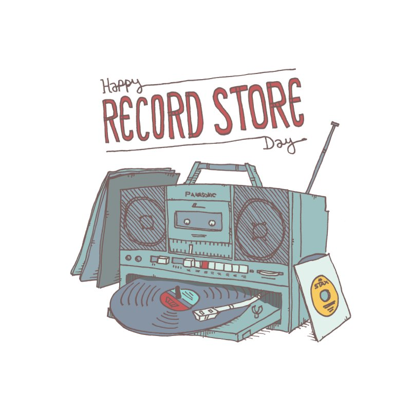 Record Boombox 16 by