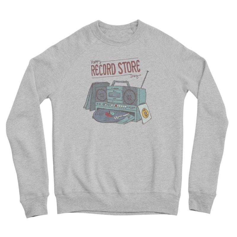 Record Boombox 16 Men's Sponge Fleece Sweatshirt by