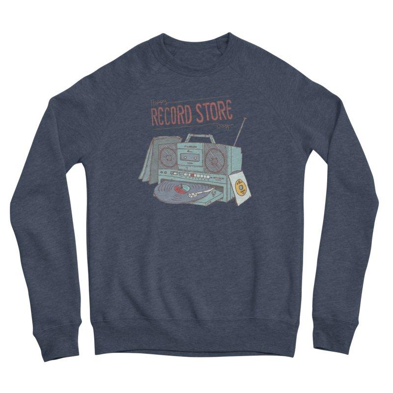 Record Boombox 16 Women's Sponge Fleece Sweatshirt by