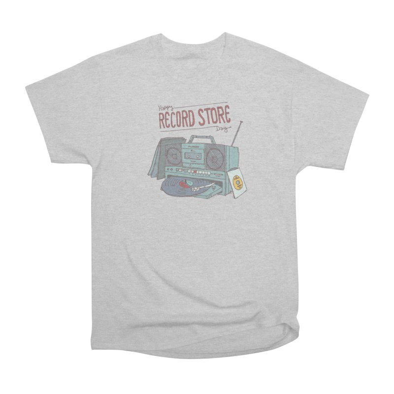 Record Boombox 16 Men's Heavyweight T-Shirt by