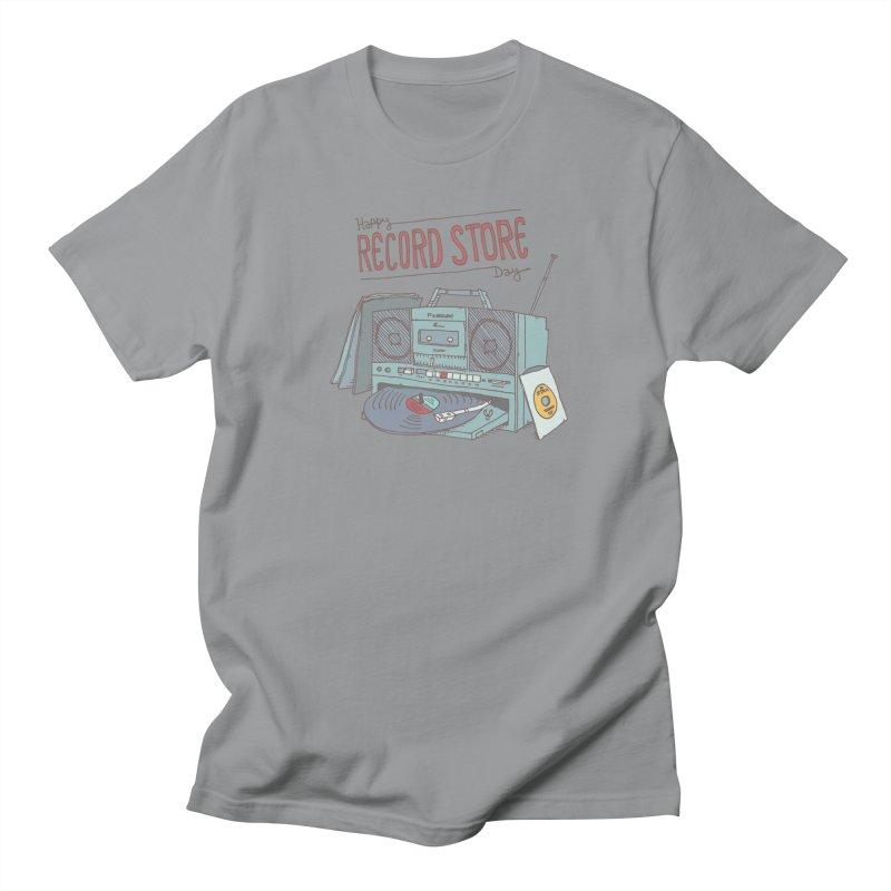 Record Boombox 16 Men's Regular T-Shirt by