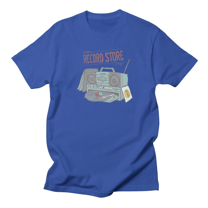 Record Boombox 16 Men's Regular T-Shirt by