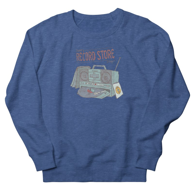 Record Boombox 16 Women's French Terry Sweatshirt by