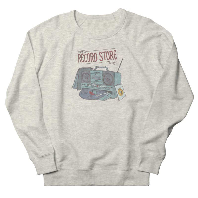 Record Boombox 16 Men's French Terry Sweatshirt by