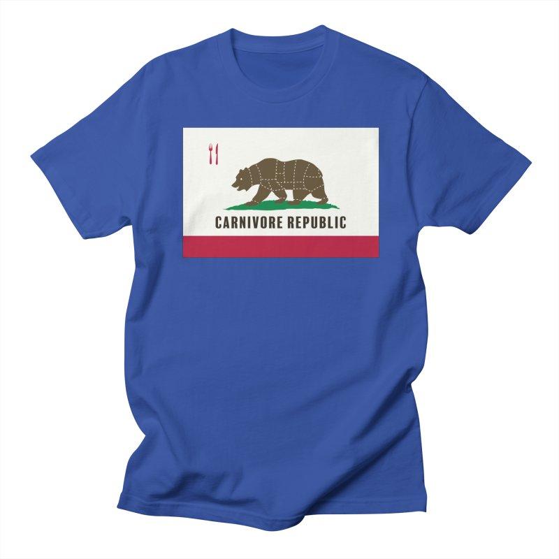Carnivore Republic Women's Regular Unisex T-Shirt by Mightywombat's Artist Shop