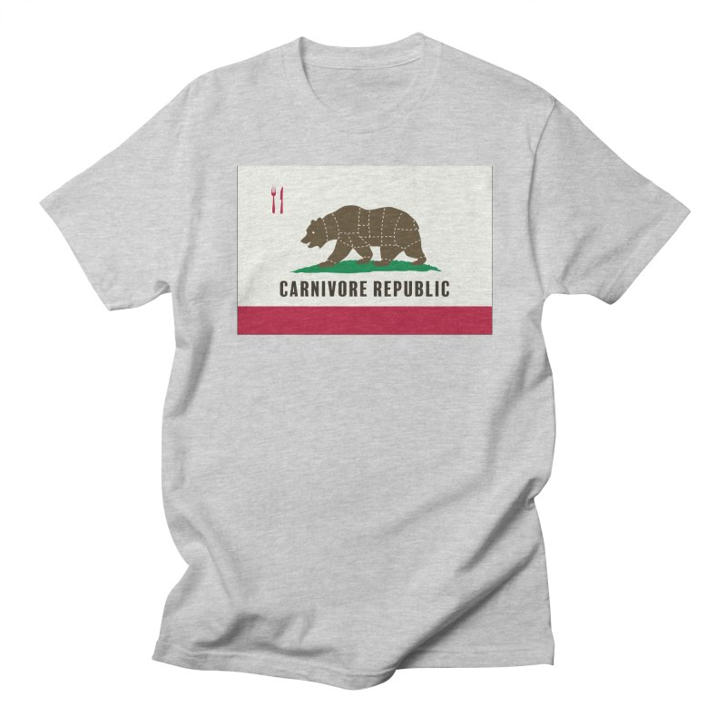 Carnivore Republic Men's Regular T-Shirt by Mightywombat's Artist Shop