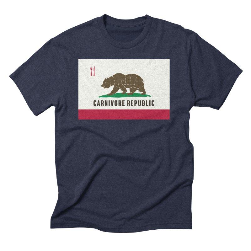 Carnivore Republic Men's Triblend T-Shirt by Mightywombat's Artist Shop